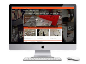 Jewellery WordPress website design