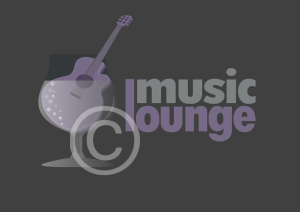 Music Bar Logo, Music Lounge
