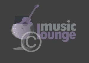 Music Bar Logo, Music Lounge