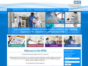 NHS WordPress Theme Website Design