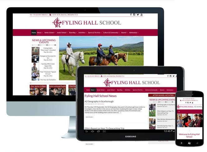 School Wesite WordPress Theme