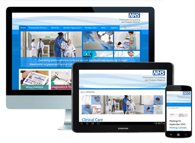 NHS WordPress Theme